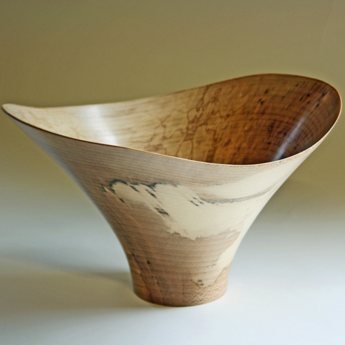 Wave Sycamore Bowl